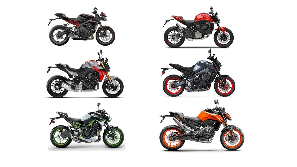 2021 Ducati Monster vs rivals