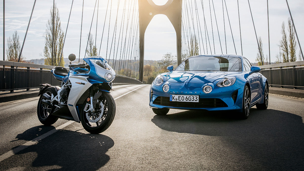 MV Agusta and Alpine come together for a very special Superveloce