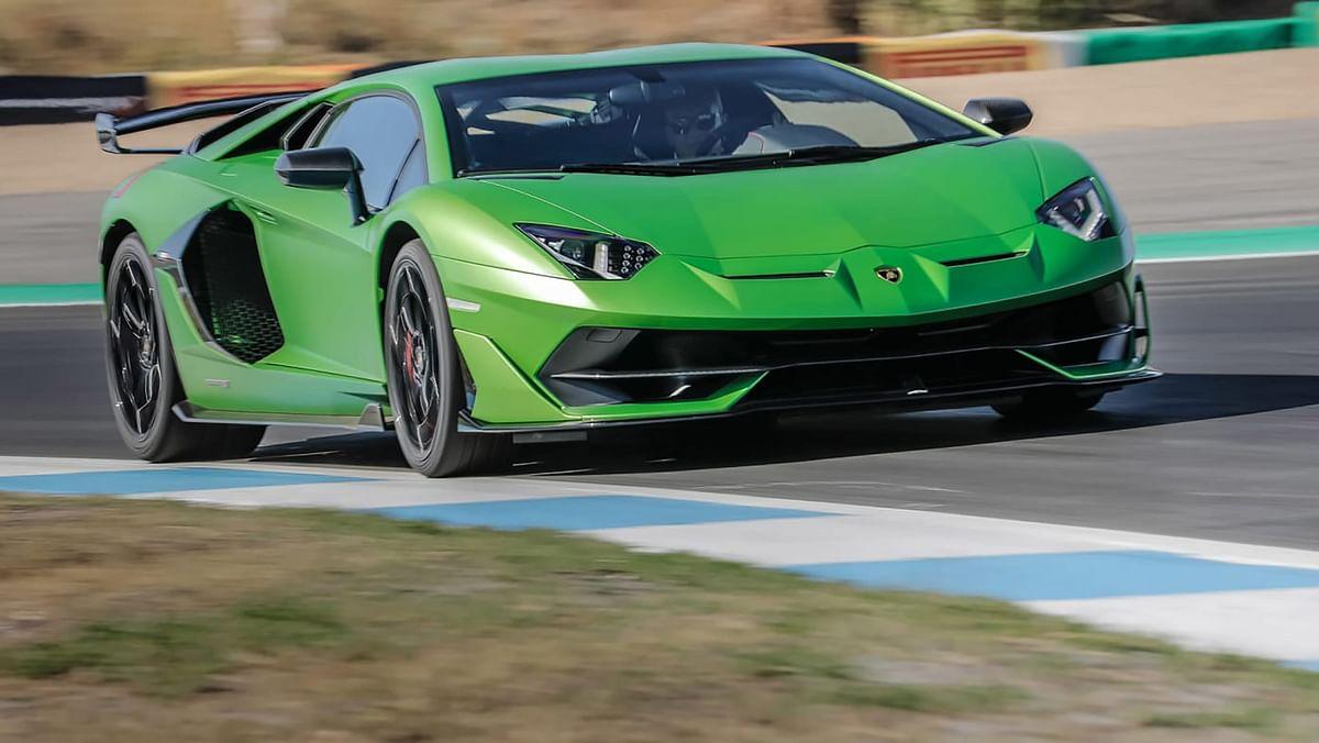 Lamborghini's Aventador SVJ lapped the circuit in 6:44.97