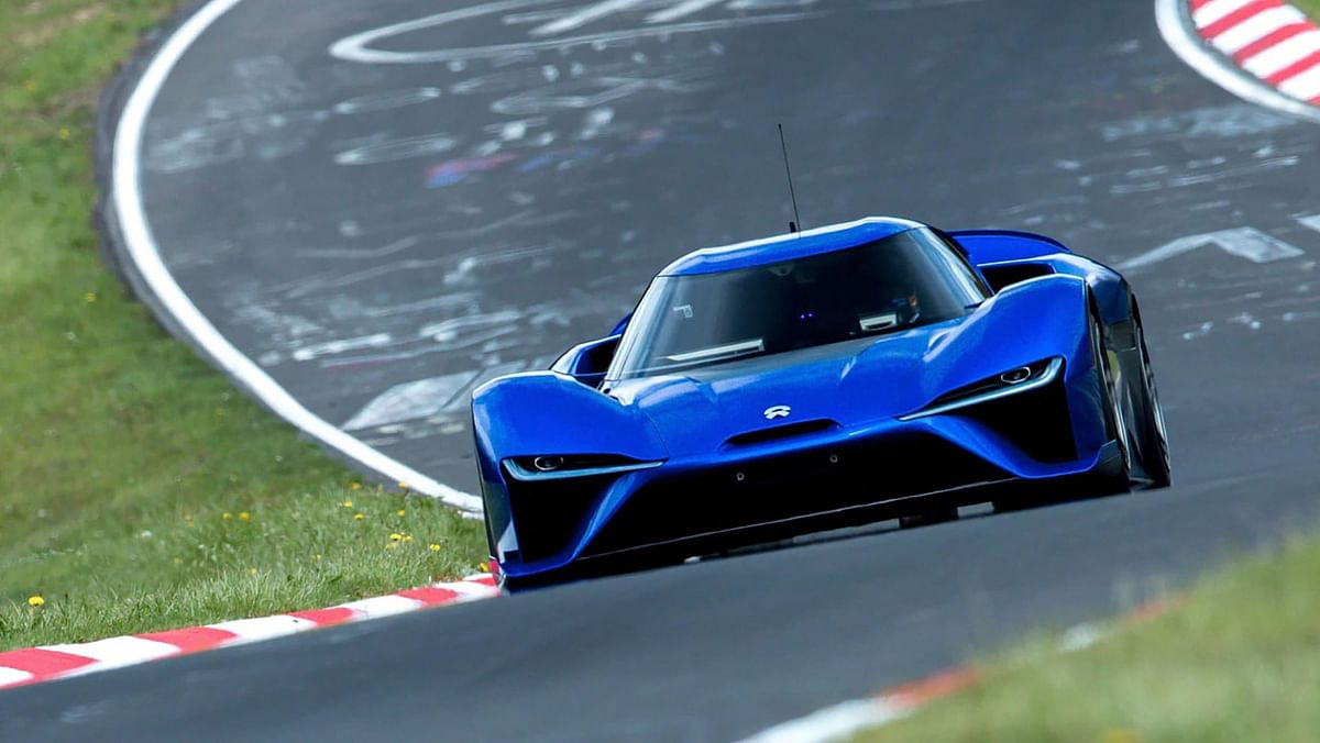 The 1341bhp Le Mans-inspired hypercar set a blistering time of 6:45.9