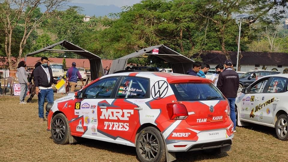 MRF Tyres is back in the INRC