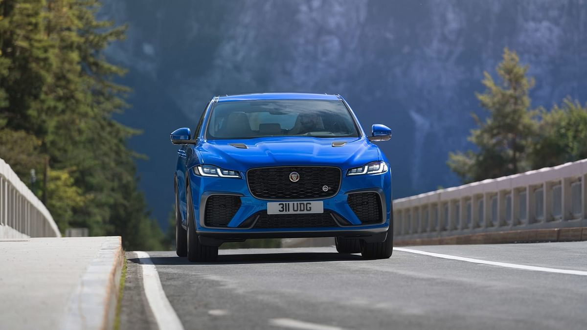 The F-Pace SVR borrows styling and tech changes from the standard model launched this year