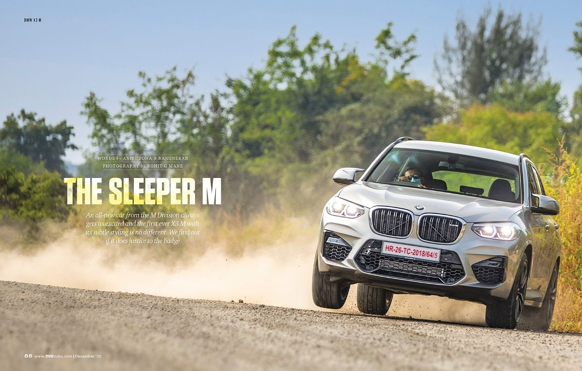 Driving the new BMW X3 with the new engine from the M Division and a revised chassis