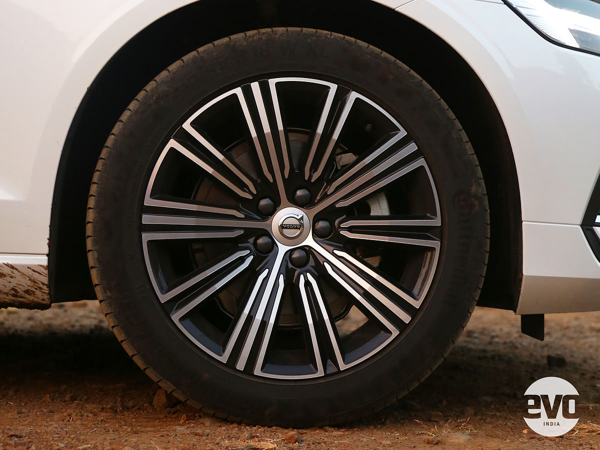 18-inch rims allow for a good balance of ride quality and good looks