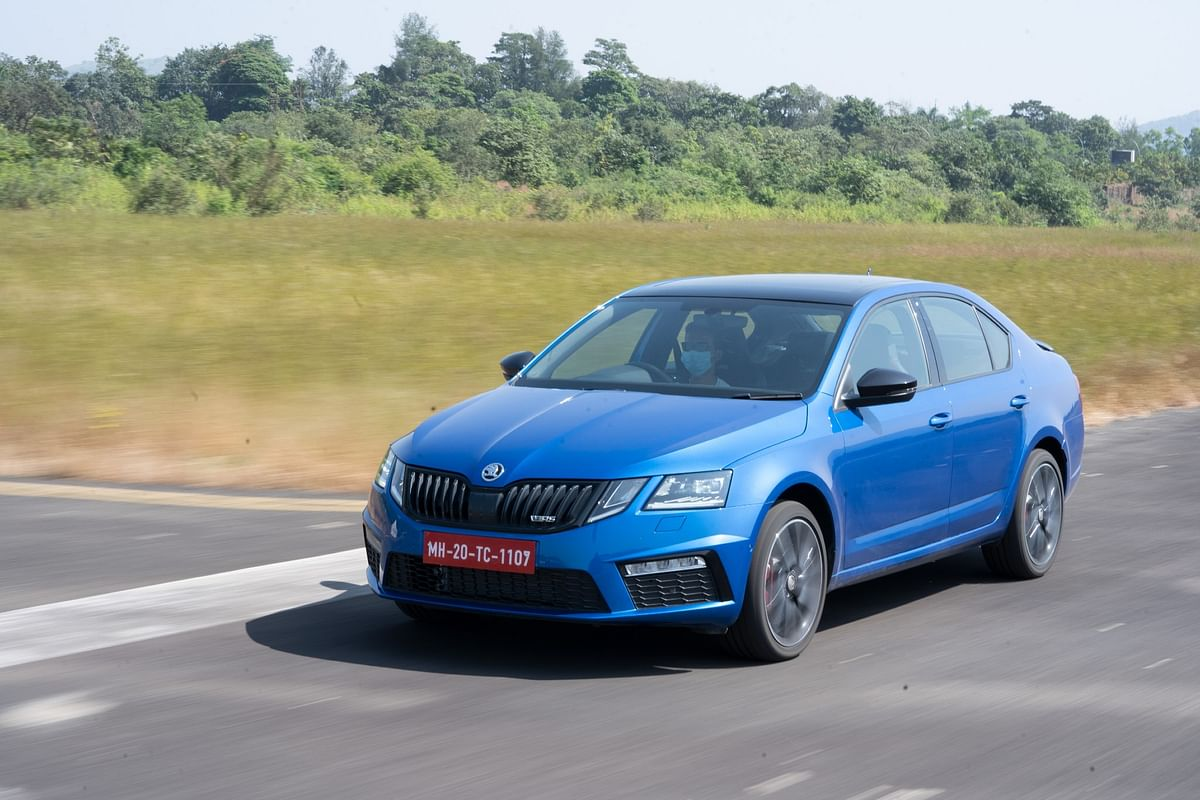 The Octavia RS looks very cool