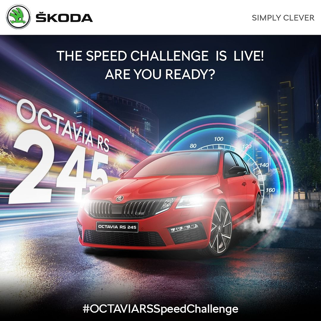 Skoda Auto India partners with Twitter for the Speed Challenge game