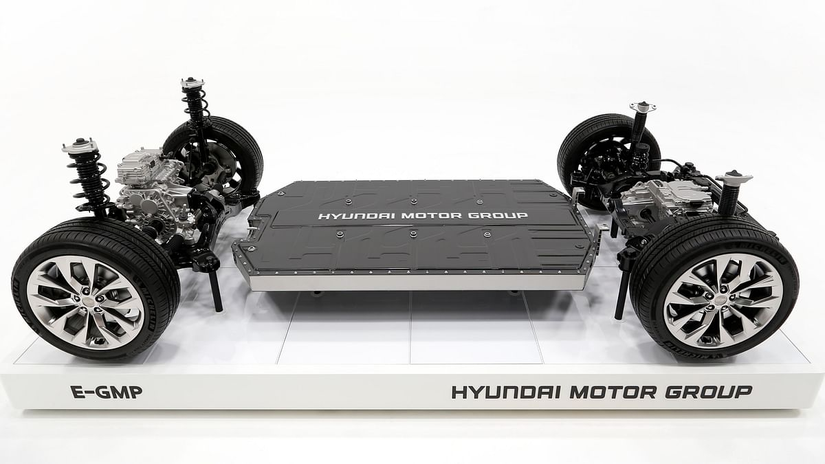 Hyundai announces new E-GMP platform for electric vehicles