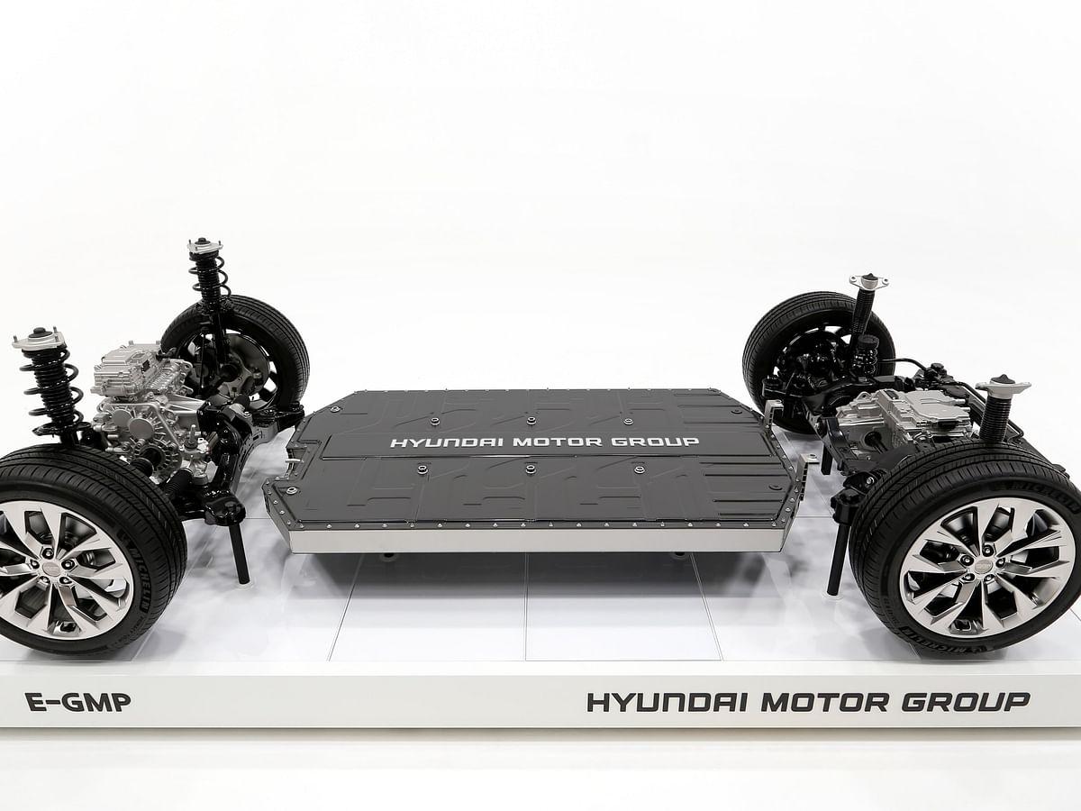 Hyundai announces new E-GMP platform for electric vehicles