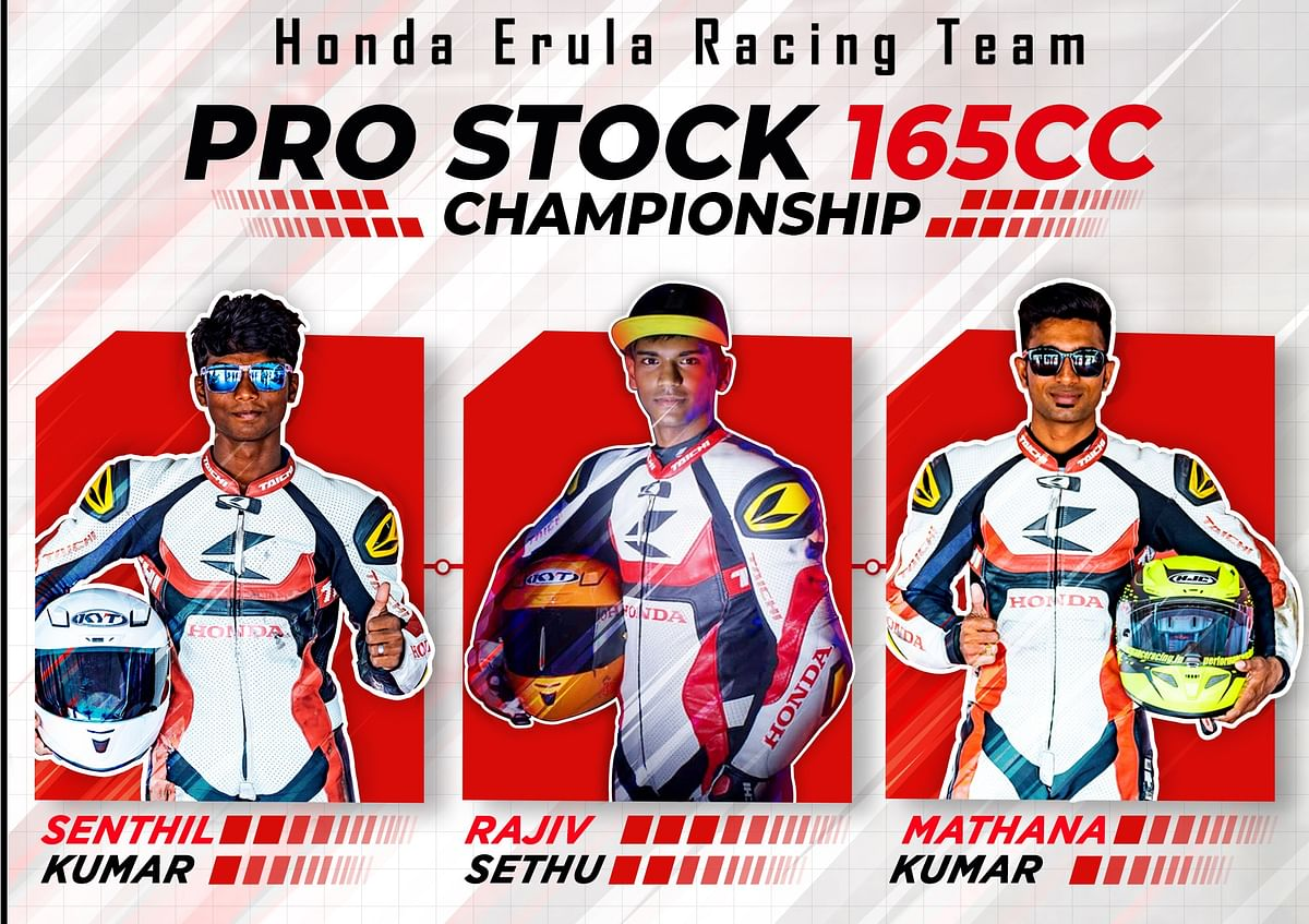 Eneos Honda Erula Racing team all set for INMRC Grand Finale