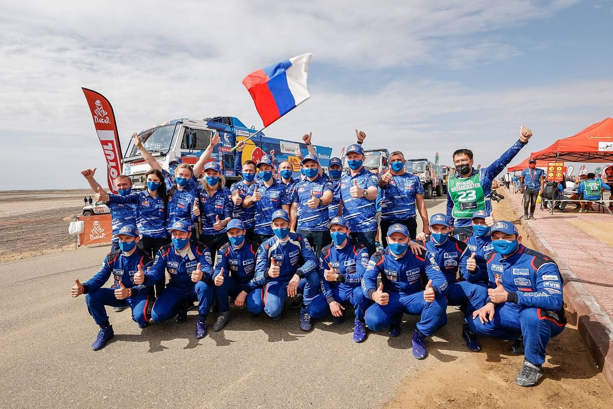 Dakar 2021 | Fifth consecutive win by Dmitri Sotnikov as Team Kamaz Master takes its 18th win