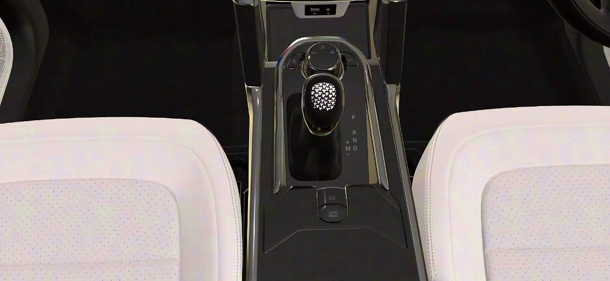 Electronic parking brake as seen in the official AR imaginator for the Safari in an automatic variant