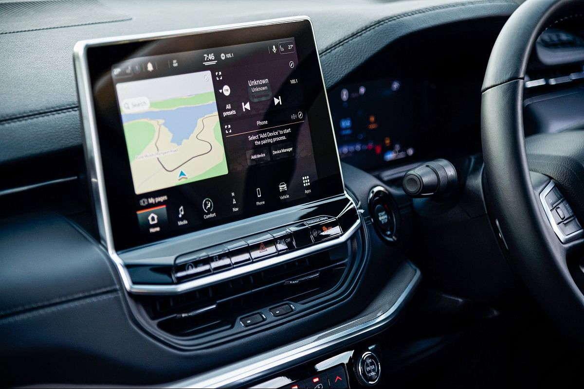 10.1-inch infotainment system