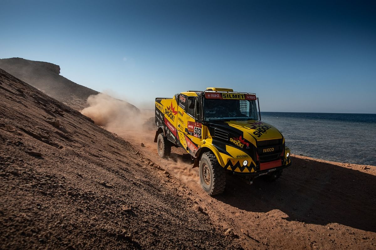 Dakar 2021 Stage 9 | Big Shock Racing's Martin Macik and team take the win