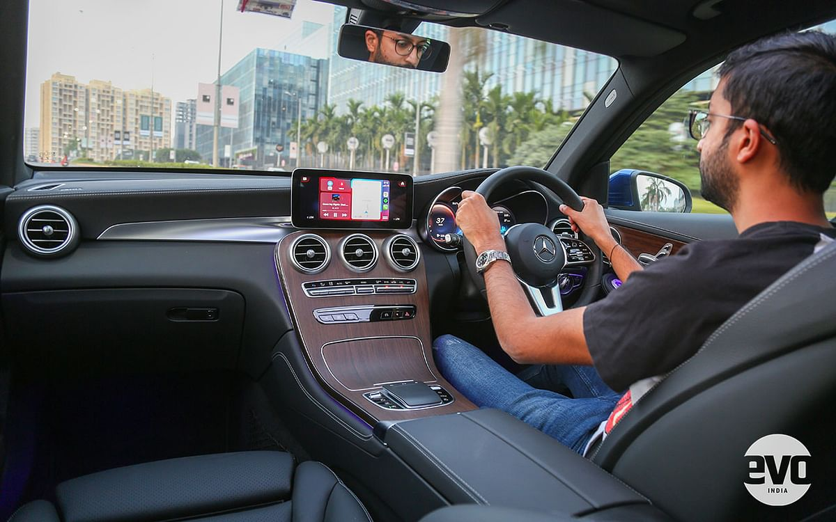 There's enough adjustment in the seats to help you find a comfortable driving position, but a memory function is missing