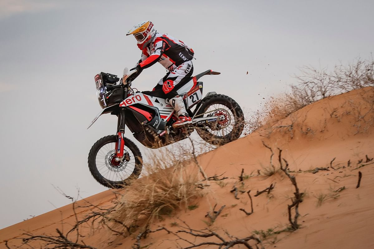 Dakar 2021 Stage 8 | Hero MotoSports' JRod and Buhler in Top 20