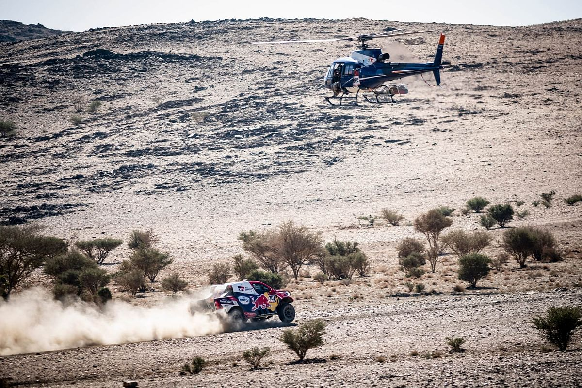 Dakar 2021 Stage 3 | Toyota Gazoo Racing's Nasser Al-Attiyah continues to dominate