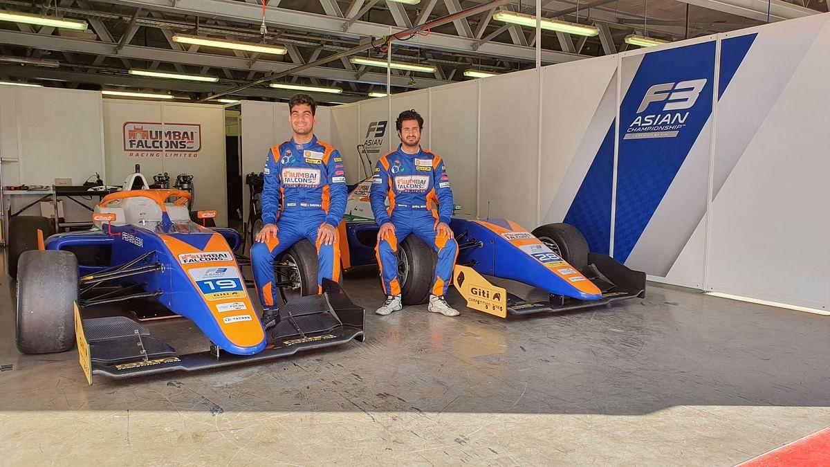 Mumbai Falcons' Jehan Daruvala and Kush Maini all set for the Formula 3 Asian Championship