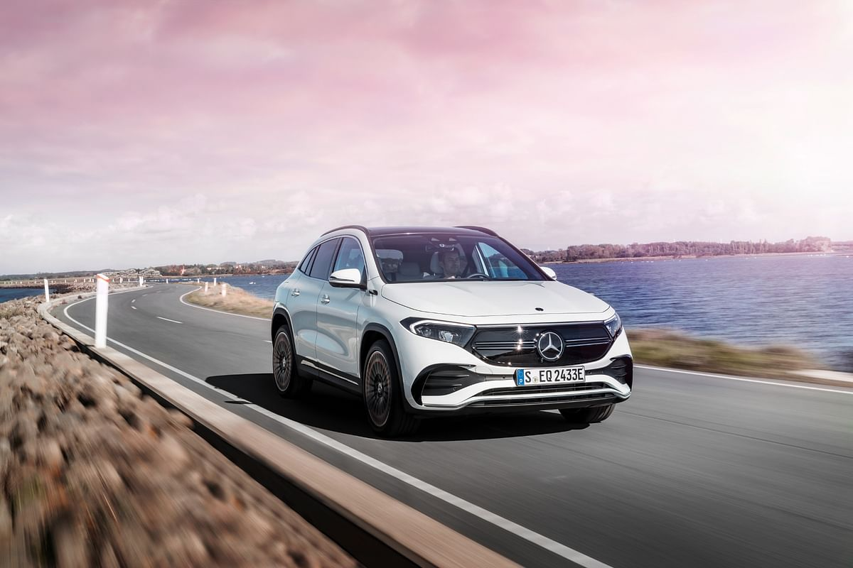 The EQA is part of Mercedes-Benz' electrification strategy for 2021