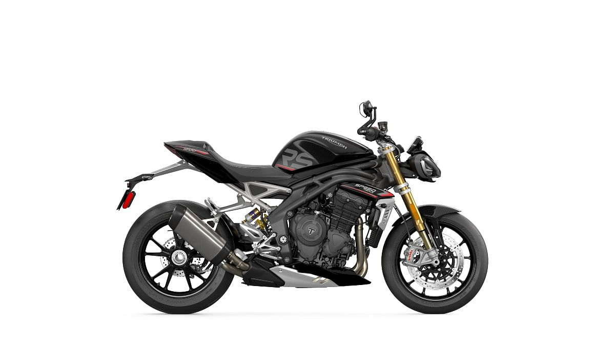 Speed Triple 1200 RS in Sapphire Black