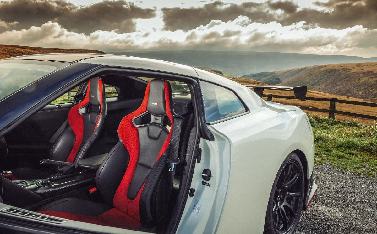 The Recaro seats pinch, hug and hold you in all the right places
