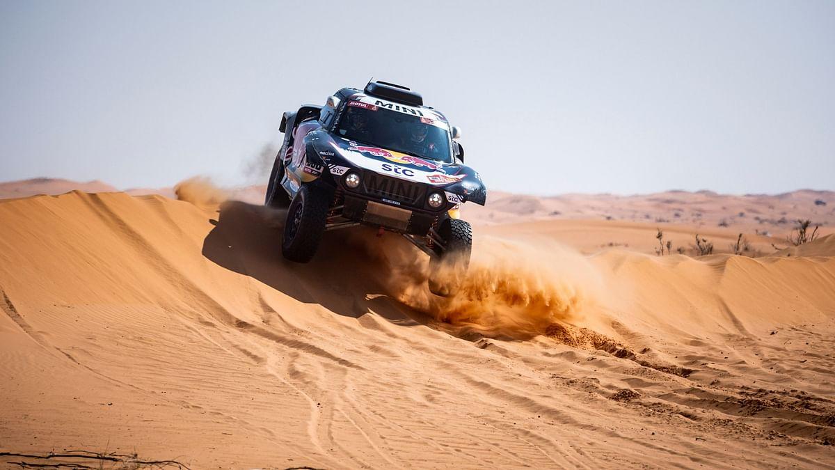 Dakar 2021 Stage 6   Team X-Raid Mini JCW's Carlos Sainz triumphant