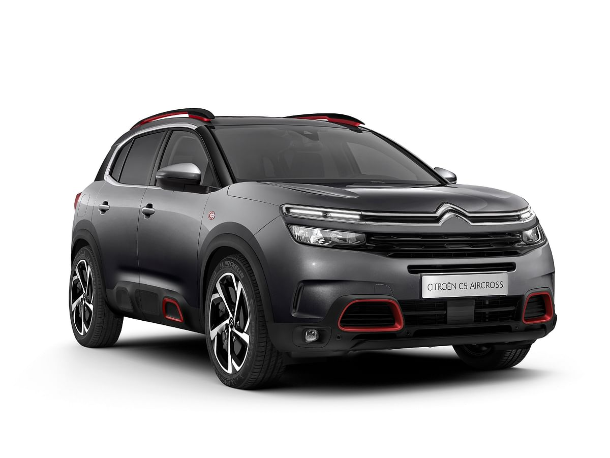 Citroen to unveil India-spec C5 Aircross on February 1