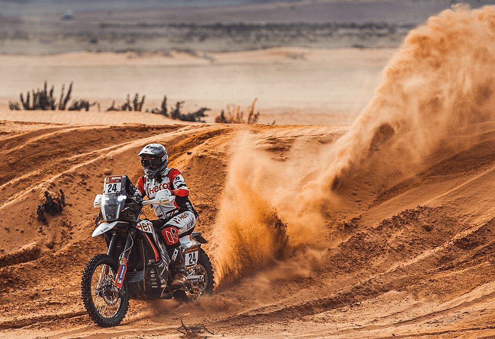 Dakar 2021 Stage 7 | JRod continues to shine for Hero MotoSports Team Rally with a P8 finish