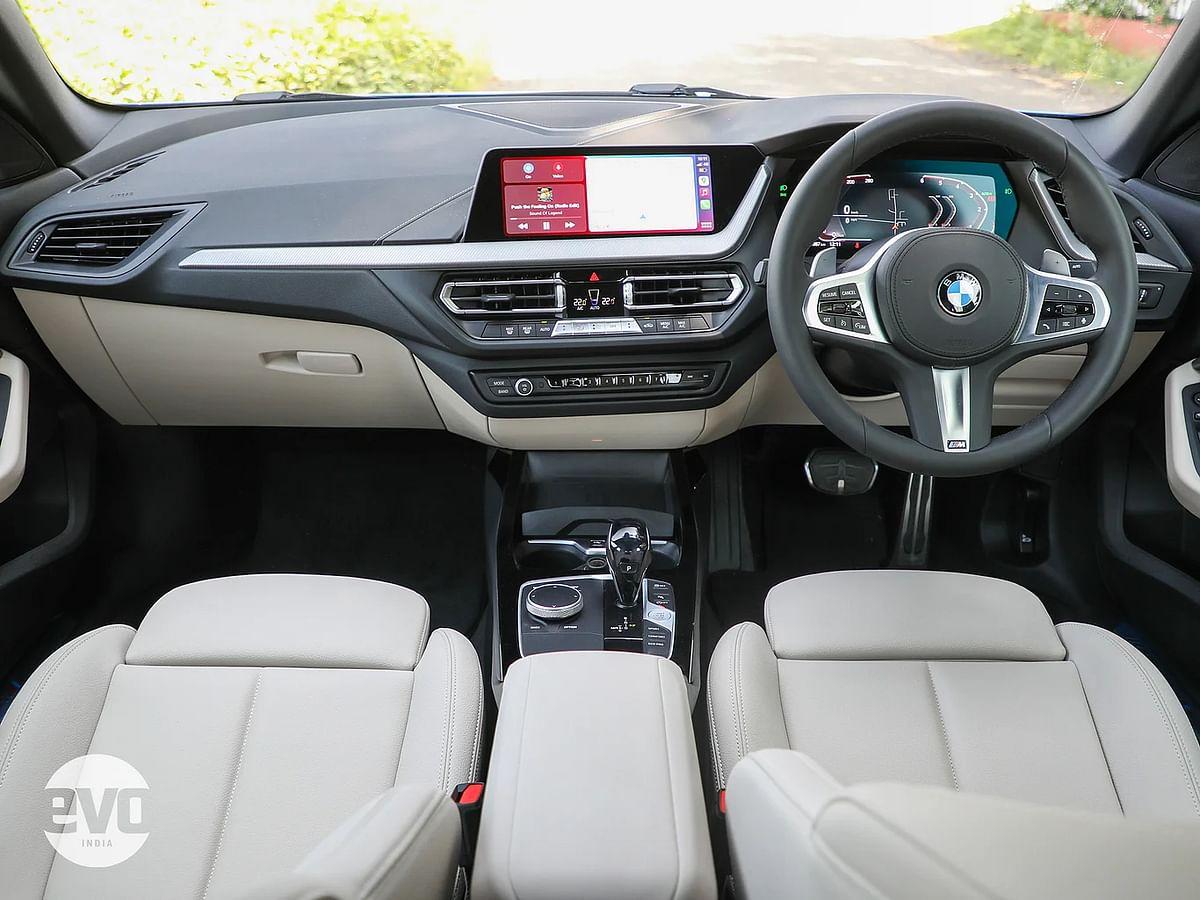 BMW 220d interior