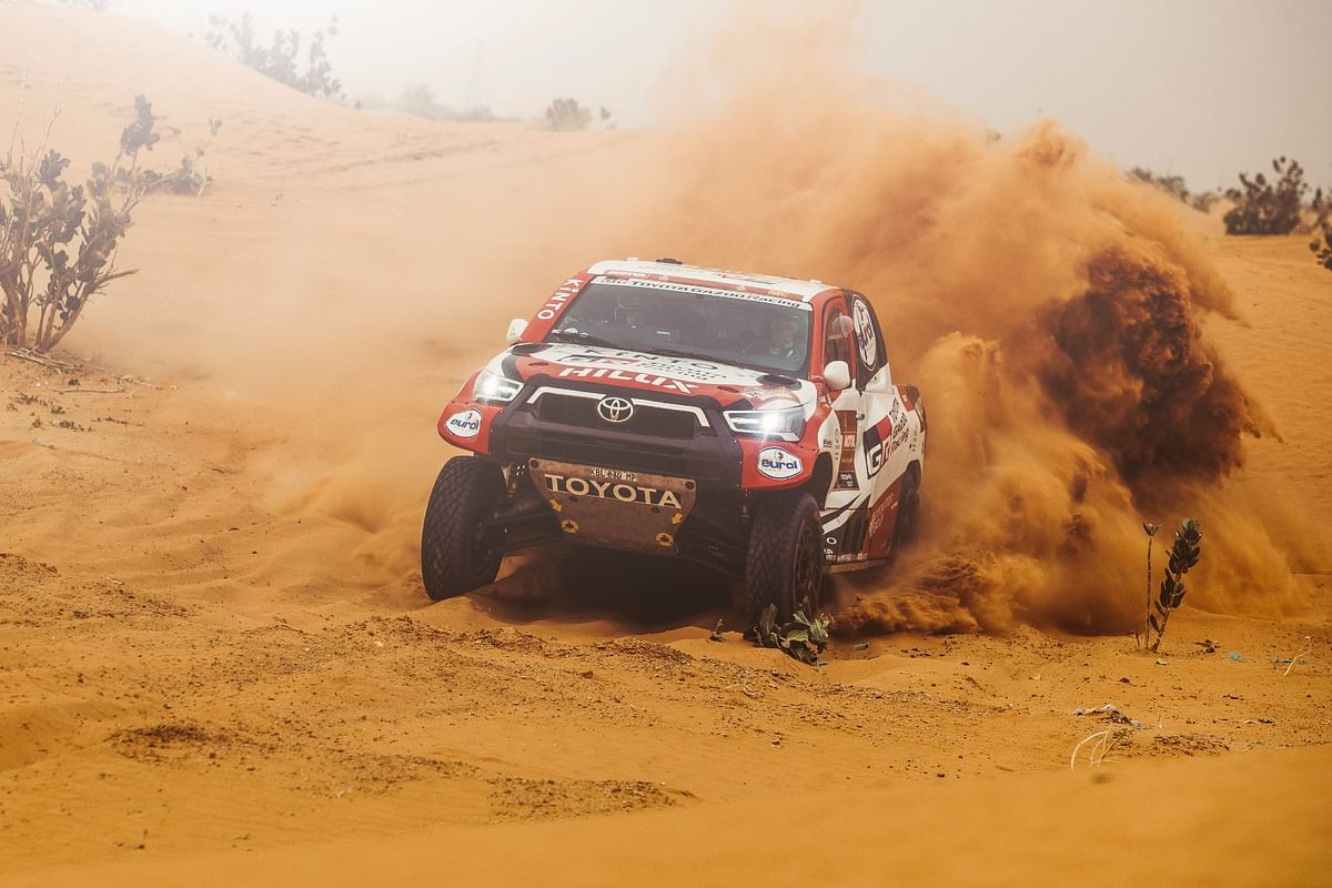 Dakar 2021 Stage 5 | Toyota Gazoo Racing's Giniel De Villiers sneaks in a surprise win