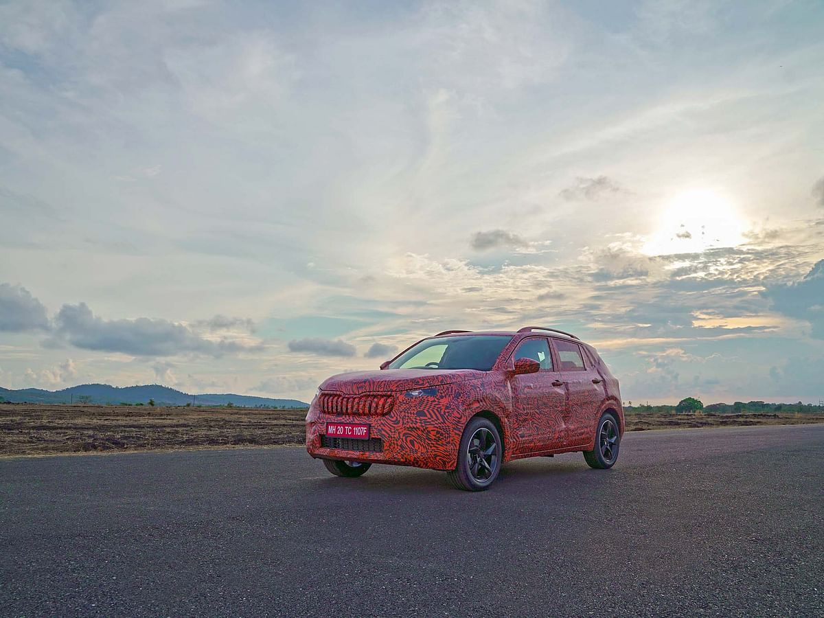 Skoda Kushaq driven, prototype drive of Creta and Seltos rival