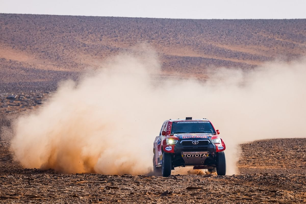 Dakar 2021 Stage 8 | Another stage victory for Toyota Gazoo Racing's Nasser Al-Attiyah