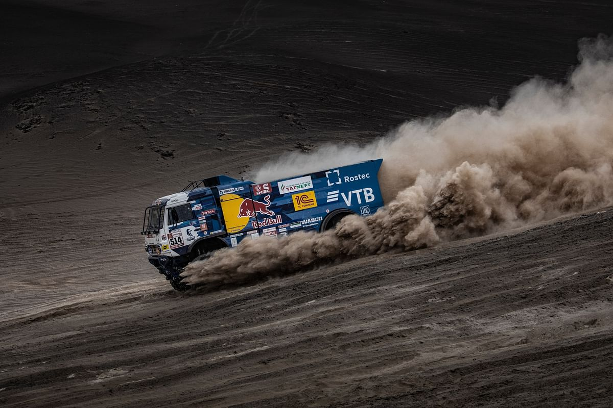 Kamaz-Master has absolutely dominated the trucks class this year