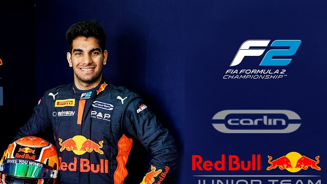 Jehan Daruvala to continue in Formula 2 with the Red Bull Junior Team