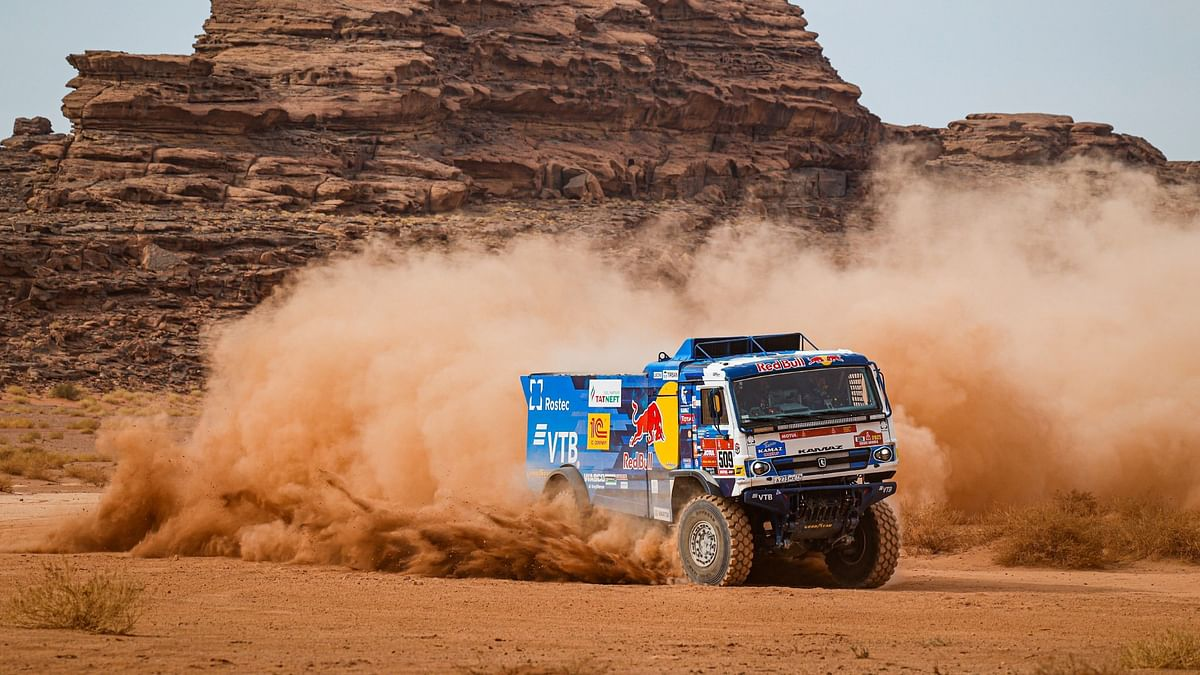 2021 Dakar | Dmitri Sotnikov takes the fifth win in a row for Team Kamaz Master