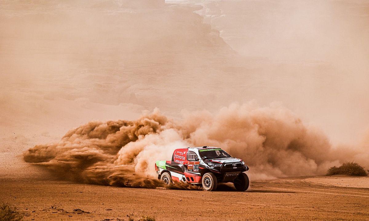 Yazeed Al Rajhi at Stage 10