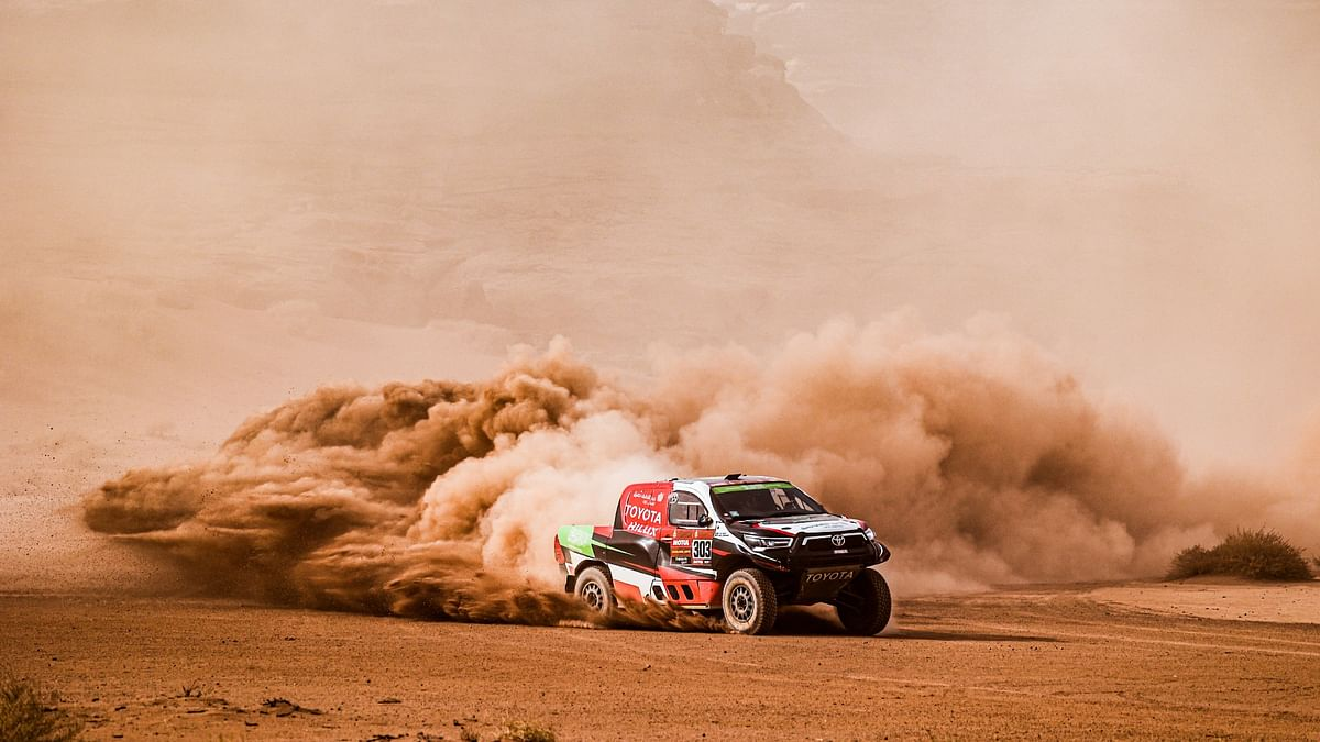 Dakar 2021 Stage 10   Overdrive Toyota's Yazeed Al Rajhi takes second stage win