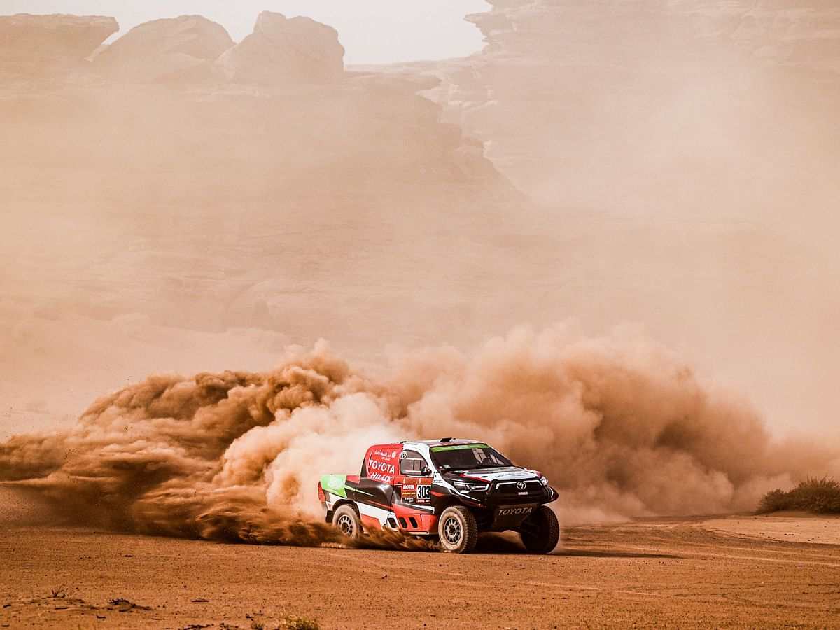 Dakar 2021 Stage 10 | Overdrive Toyota's Yazeed Al Rajhi takes second stage win