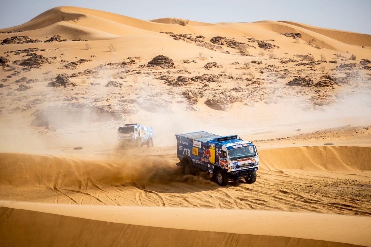 Dakar 2021 Stage 11| Kamaz-Master dominates Stage 11