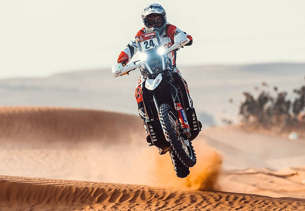 Dakar 2021 Stage 6| Strong finish for Hero Motosports' Joaquim Rodrigues