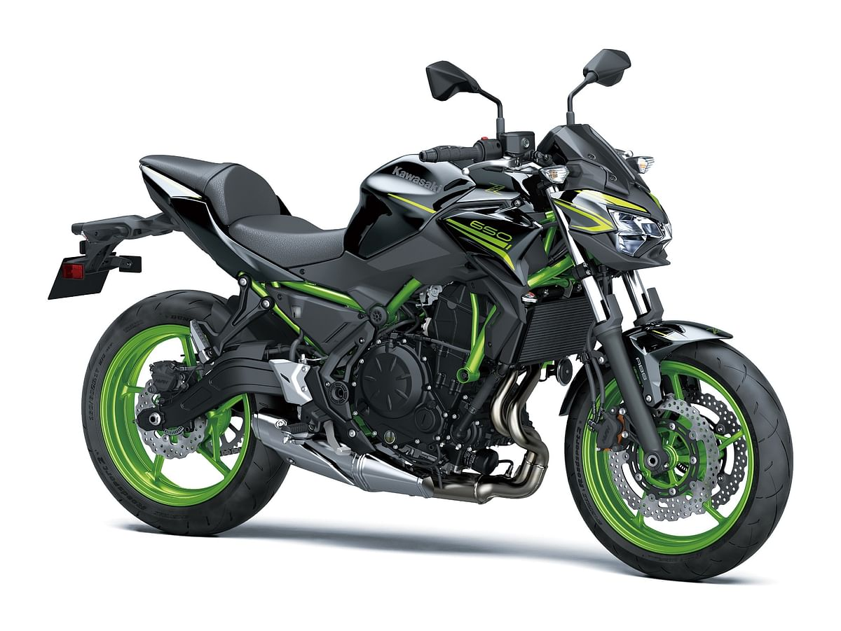 Kawasaki Z650 and Versys 1000 get new colour schemes