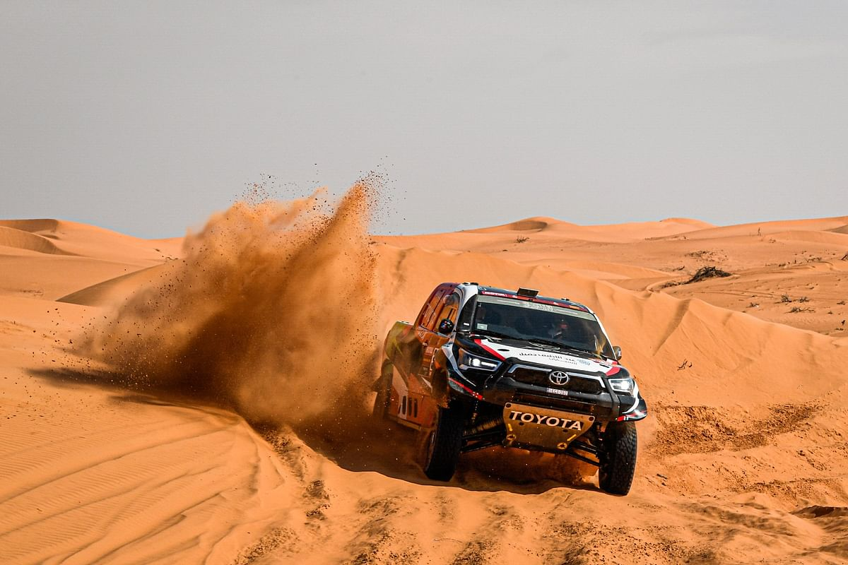Dakar 2021 Stage 7 | Overdrive Toyota's Yazeed Al Rajhi takes the win