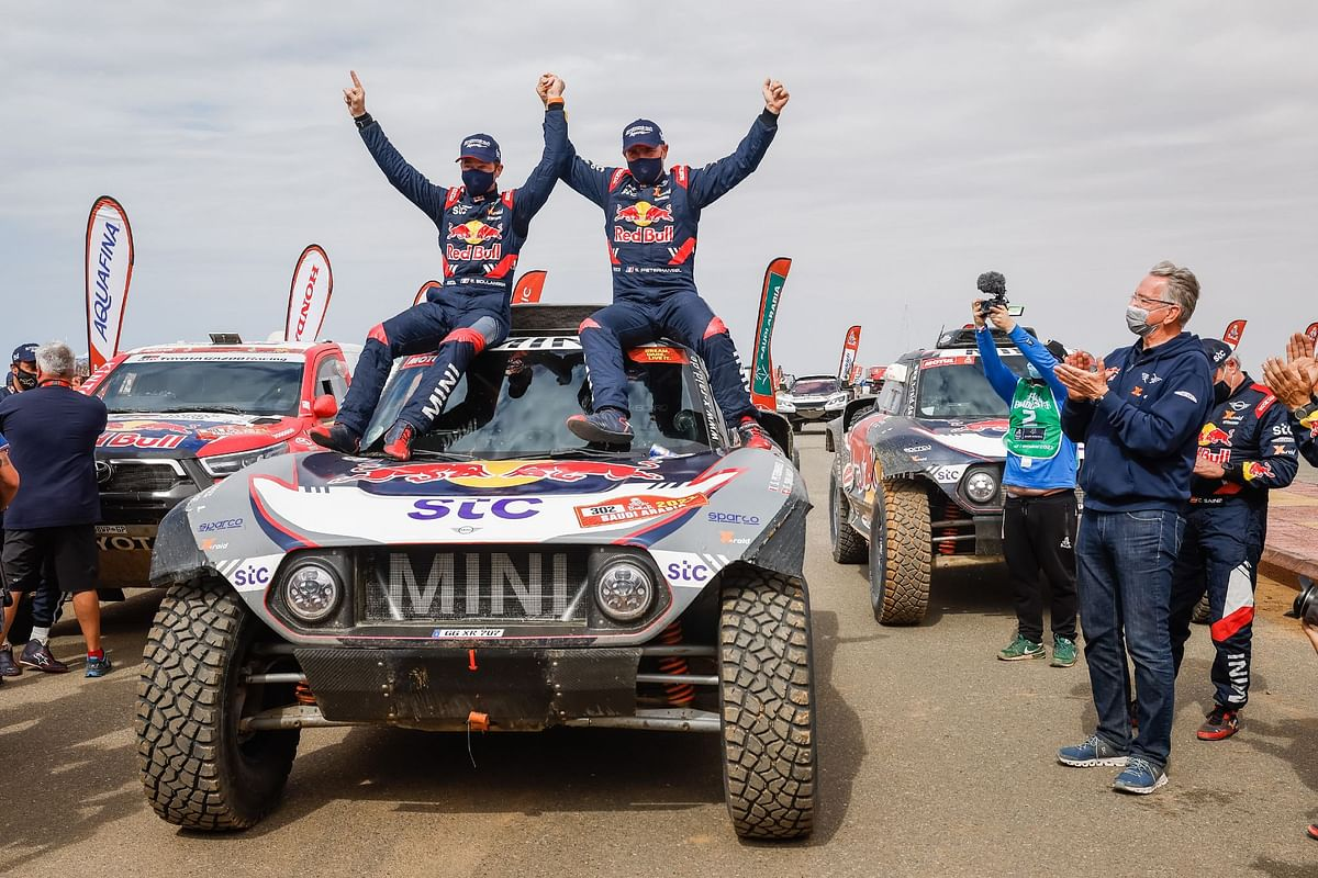 Dakar 2021 Stage 12 | Stephane Peterhansel takes crown for the 14th time
