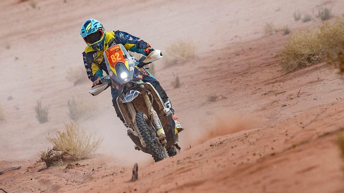 Dakar 2021 Stage 10 | Penalty impacts Ashish Raorane's standings
