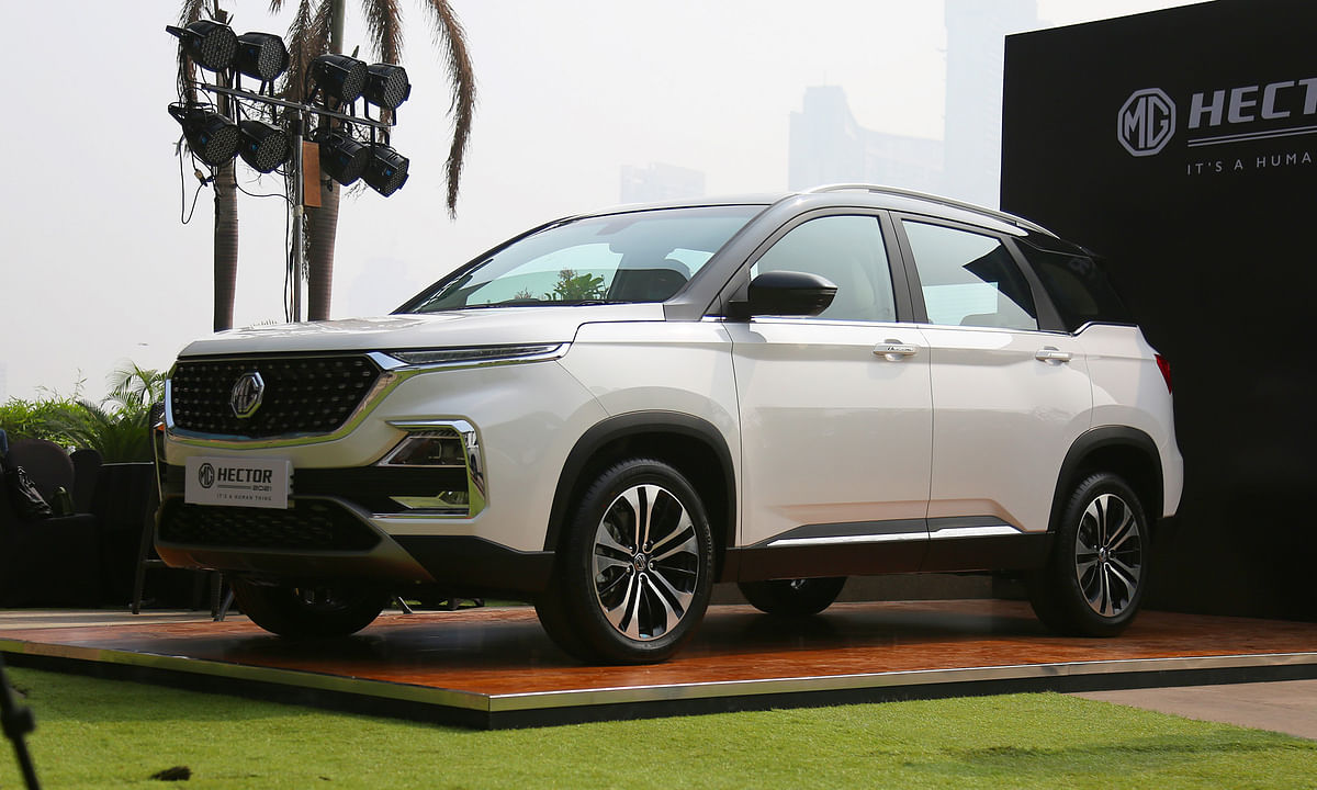 Not too much has changed, but the MG Hector was already a well-equipped SUV