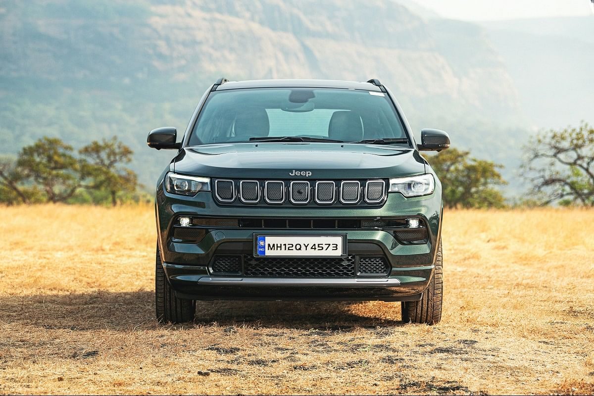 The Compass gets a redesigned front bumper and LED headlamps with DRLs
