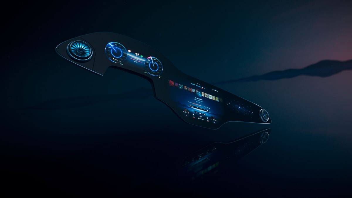 A 56-inch infotainment system? Yes please! Mercedes-Benz unveils MBUX Hyperscreen