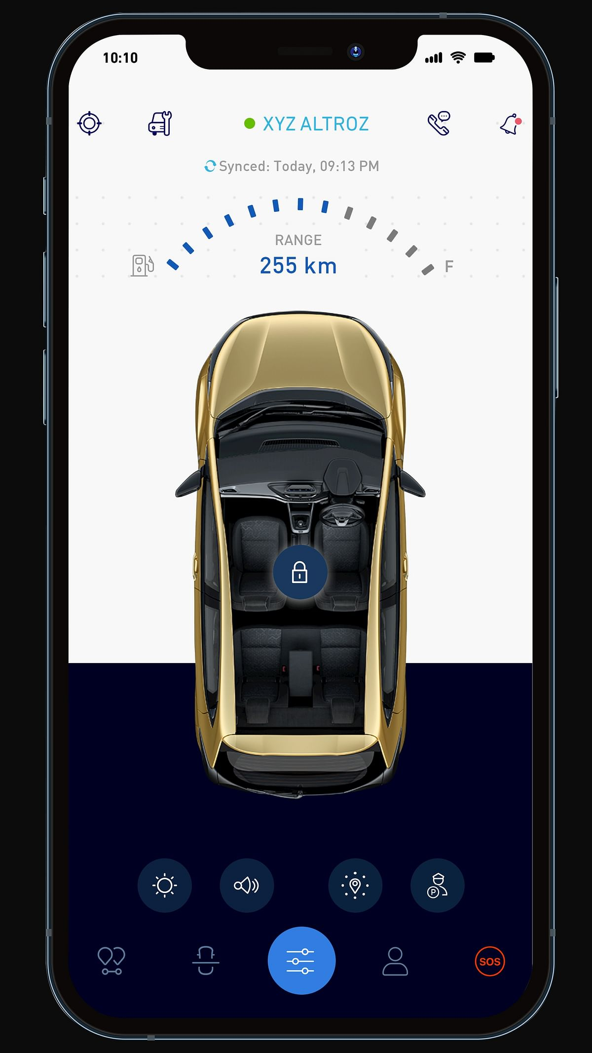 The iTurbo also gets the iRA connected car features