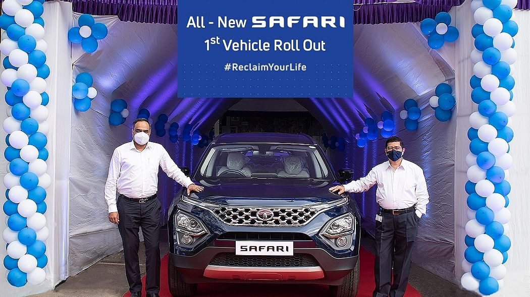 The new Tata Safari is closer than you'd imagine!
