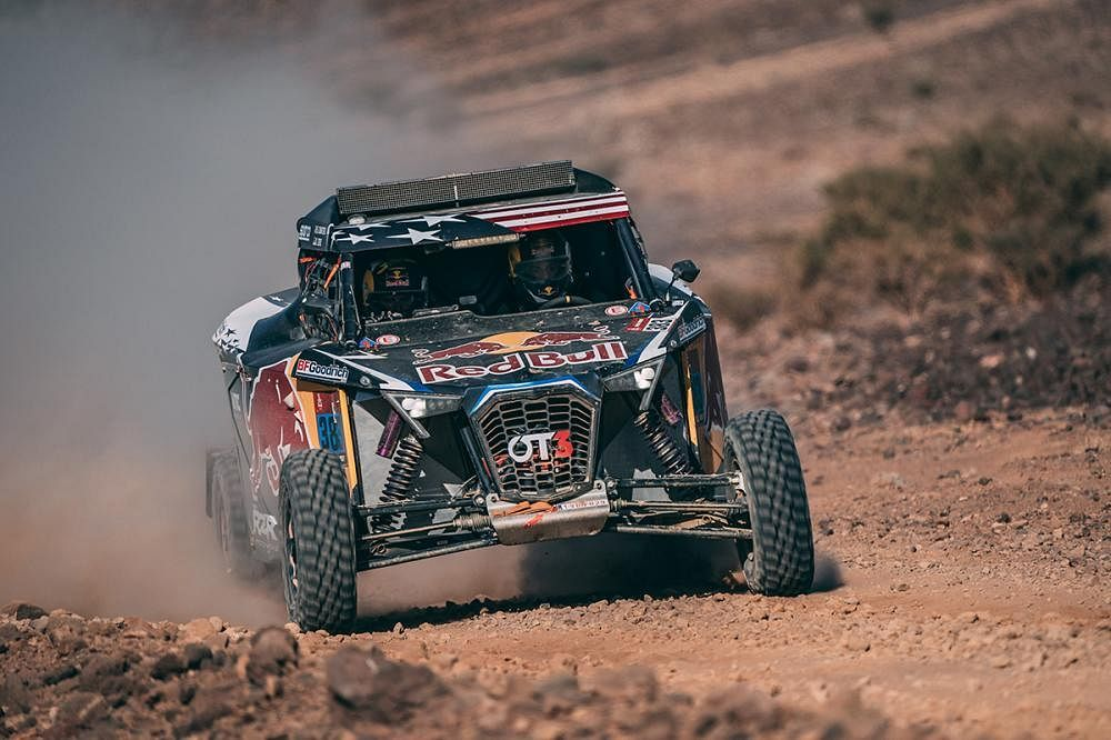 Seth Quintero and Dennis Zenz of Red Bull Off-Road Team USA