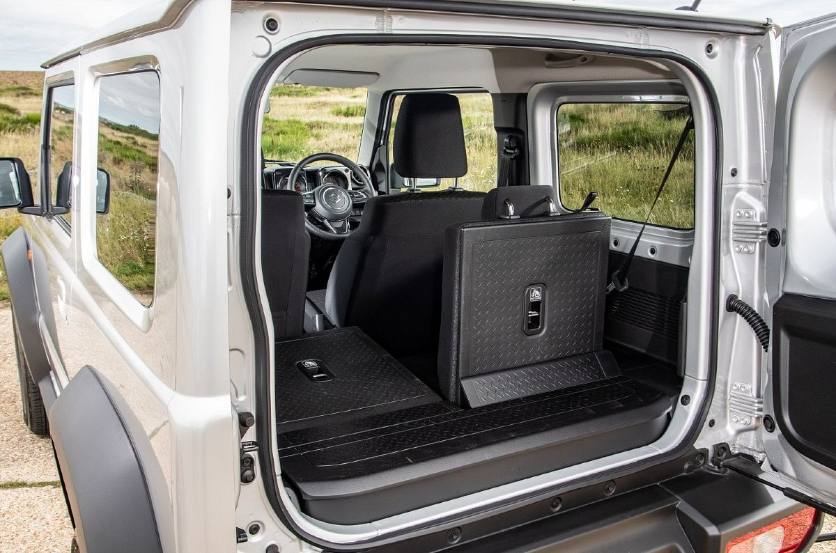 Despite its short wheelbase in other markets, the Jimny looks is quite spacious